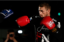 VANCOUVER, CANADA - JUNE 12:  Ali Bagautinov holds an open training session for media at the EA Sports Capture Lab on June 12, 2014 in Vancouver, British Columbia, Canada. (Photo by Josh Hedges/Zuffa LLC/Zuffa LLC via Getty Images)
