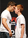 VANCOUVER, BC - JUNE 13:  Josh Thomson poses for photos with young fans after a Q&A session before the UFC 174 weigh-in at Rogers Arena on June 13, 2014 in Vancouver, Canada.  (Photo by Josh Hedges/Zuffa LLC/Zuffa LLC via Getty Images)