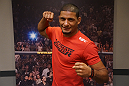 Dhiego Lima following his first-round submission of Roger Zapata.