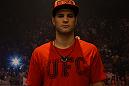 Matt Van Buren poses before his bout against Daniel Spohn.