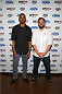 LAS VEGAS, NV - JULY 2:  Actors Damon Wayans Jr. (L) and Jake Johnson arrive at the advanced screening of the Twentieth Century Fox film 'Let's Be Cops' during UFC International Fight Week at Brooklyn Bowl Las Vegas at The LINQ on July 2, 2014 in Las Vegas, Nevada. (Photo by Al Powers/Zuffa LLC/Zuffa LLC via Getty Images)