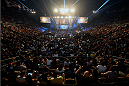 LAS VEGAS, NV - JULY 4:  A general view during the UFC 175 weigh-in inside the Mandalay Bay Events Center on July 4, 2014 in Las Vegas, Nevada. (Photo by Jeff Bottari/Zuffa LLC/Zuffa LLC via Getty Images)