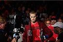 LAS VEGAS, NV - JULY 06:  Matt Van Buren enters the Octagon before his light heavyweight fight with Corey Anderson during the Ultimate Fighter Finale inside the Mandalay Bay Events Center on July 6, 2014 in Las Vegas, Nevada.  (Photo by Josh Hedges/Zuffa LLC/Zuffa LLC via Getty Images)