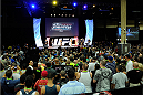 LAS VEGAS, NV - JULY 5:  A general view of the main stage during the UFC Fan Expo at the Mandalay Bay Convention Center on July 5, 2014 in Las Vegas, Nevada. (Photo by Todd Lussier/Zuffa LLC/Zuffa LLC via Getty Images) *** Local Caption ***