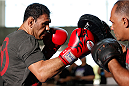 SAN JOSE, CA - JULY 24: Antonio Rogerio Nogueira holds an open training session for media and fans at the SAP Center on July 24, 2014 in San Jose, California. (Photo by Josh Hedges/Zuffa LLC/Zuffa LLC via Getty Images)