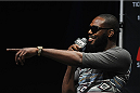 LOS ANGELES, CA - AUGUST 05:  Mixed martial artist Jon Jones talks at LA Live during a UFC Q&A on August 5, 2014 in Los Angeles, California.  (Photo by Jonathan Moore/Zuffa LLC/Zuffa LLC via Getty Images)
