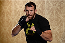 BANGOR, ME - AUG 14:   Ryan Bader holds an open training session for the media and fans at the Cross Insurance Center on August 14, 2014 in Bangor, Maine. (Photo by Jeff Bottari/Zuffa LLC/Zuffa LLC via Getty Images) *** Local Caption ***Ryan Bader