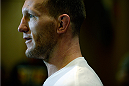 BANGOR, ME - AUG 14:   Gray Maynard holds an open training session for the media and fans at the Cross Insurance Center on August 14, 2014 in Bangor, Maine. (Photo by Jeff Bottari/Zuffa LLC/Zuffa LLC via Getty Images) *** Local Caption ***Gray Maynard