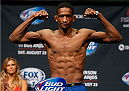 TULSA, OK - AUGUST 22: Neil Magny weighs in during the UFC Fight Night weigh-in at the BOK Center on August 22, 2014 in Tulsa, Oklahoma. (Photo by Josh Hedges/Zuffa LLC/Zuffa LLC via Getty Images)