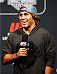 SACRAMENTO, CA - AUGUST 29:  UFC bantamweight contender Urijah Faber interacts with fans during a Q&A session before the UFC 177 weigh-in at Sleep Train Arena on August 29, 2014 in Sacramento, California.  (Photo by Josh Hedges/Zuffa LLC/Zuffa LLC via Getty Images)