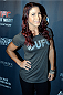 MASHANTUCKET, CT - SEPTEMBER 5: The Ultimate Fighter season 20 cast member Tecia Torres arrives at the UFC's The Ultimate Fighter 20 event inside the Shrine at Foxwoods Resort Casino on September 5, 2014 in Mashantucket, Connecticut. (Photo by Jeff Bottari/Zuffa LLC/Zuffa LLC via Getty Images)