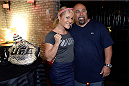 MASHANTUCKET, CT - SEPTEMBER 5: The Ultimate Fighter season 20 cast member Felice Herrig poses with a fan at the UFC's The Ultimate Fighter 20 event inside the Shrine at Foxwoods Resort Casino on September 5, 2014 in Mashantucket, Connecticut. (Photo by Jeff Bottari/Zuffa LLC/Zuffa LLC via Getty Images)
