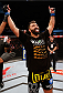 "BRASILIA, BRAZIL - SEPTEMBER 13:  Andrei Arlovski of Belarus celebrates after his knockout victory over Antonio ""Bigfoot"" Silva of Brazil in their heavyweight bout during the UFC Fight Night event inside Nilson Nelson Gymnasium on September 13, 2014 in Brasilia, Brazil.  (Photo by Josh Hedges/Zuffa LLC/Zuffa LLC via Getty Images)"