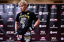 TOKYO, JAPAN - SEPTEMBER 16:  Masanori Kanehara of Japan holds a UFC Fight Night open workout for media at the Hilton Tokyo on September 16, 2014 in Tokyo, Japan.  (Photo by Keith Tsuji/Zuffa LLC/Zuffa LLC via Getty Images)