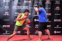 TOKYO, JAPAN - SEPTEMBER 16:  Yoshinori Akiyama of Japan holds a UFC Fight Night open workout for media at the Hilton Tokyo on September 16, 2014 in Tokyo, Japan.  (Photo by Keith Tsuji/Zuffa LLC/Zuffa LLC via Getty Images)