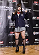 TOKYO, JAPAN - SEPTEMBER 17:  Rin Nakai poses for media during the UFC Ultimate Media Day at the Hilton Tokyo on September 17, 2014 in Tokyo, Japan.  (Photo by Keith Tsuji/Zuffa LLC/Zuffa LLC via Getty Images)