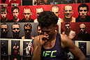 LAS VEGAS, NV - JULY 18:  Team Melendez fighter Angela Hill reacts to her loss after facing team Pettis fighter Carla Esparza during filming of season twenty of The Ultimate Fighter on July 18, 2014 in Las Vegas, Nevada. (Photo by Brandon Magnus/Zuffa LLC/Zuffa LLC via Getty Images) *** Local Caption *** Angela Hill