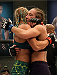 LAS VEGAS, NV - JULY 18:  Team Pettis fighter Felice Herrig hugs team Melendez fighter Heather Jo Clark after their fight during filming of season twenty of The Ultimate Fighter on July 18, 2014 in Las Vegas, Nevada. (Photo by Brandon Magnus/Zuffa LLC/Zuffa LLC via Getty Images) *** Local Caption *** Felice Herrig;Heather Jo Clark