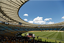 RIO DE JANEIRO, BRAZIL - OCTOBER 23:  A general view of Maracanã Stadium as Gilbert Burns holds an open training session for media on October 23, 2014 in Rio de Janeiro, Brazil. (Photo by Josh Hedges/Zuffa LLC/Zuffa LLC via Getty Images)