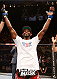 RIO DE JANEIRO, BRAZIL - OCTOBER 25:  Neil Magny celebrates after his TKO victory over William