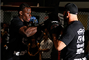SYDNEY, AUSTRALIA - NOVEMBER 05:  Clint Hester of the United States holds an open training session for media at the UFC Gym Sydney on November 5, 2014 in Sydney, Australia. (Photo by Josh Hedges/Zuffa LLC/Zuffa LLC via Getty Images)