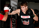 SYDNEY, AUSTRALIA - NOVEMBER 05:  Jake Matthews of Australia holds an open training session for media at the UFC Gym Sydney on November 5, 2014 in Sydney, Australia. (Photo by Josh Hedges/Zuffa LLC/Zuffa LLC via Getty Images)