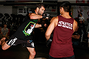 SYDNEY, AUSTRALIA - NOVEMBER 05:  Richie Vaculik of Australia holds an open training session for media at the UFC Gym Sydney on November 5, 2014 in Sydney, Australia. (Photo by Josh Hedges/Zuffa LLC/Zuffa LLC via Getty Images)