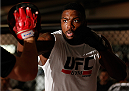 SYDNEY, AUSTRALIA - NOVEMBER 05:  Walt Harris of the United States holds an open training session for media at the UFC Gym Sydney on November 5, 2014 in Sydney, Australia. (Photo by Josh Hedges/Zuffa LLC/Zuffa LLC via Getty Images)