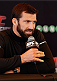 SYDNEY, AUSTRALIA - NOVEMBER 06:  Luke Rockhold of the United States interacts with media during the UFC Fight Night press conference at the Opera Point Marquee on November 6, 2014 in Sydney, Australia. (Photo by Josh Hedges/Zuffa LLC/Zuffa LLC via Getty Images)