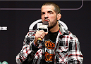 SYDNEY, AUSTRALIA - NOVEMBER 07: UFC welterweight Matt Brown interacts with fans during a Q&A session before the UFC Fight Night weigh-in at the Allphones Arena on November 7, 2014 in Sydney, Australia. (Photo by Josh Hedges/Zuffa LLC/Zuffa LLC via Getty Images)