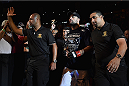 UBERLANDIA, BRAZIL - NOVEMBER 08:  Mauricio 'Shogun' Rua enters the arena  before his light heavyweight  bout against Ovince Saint Preux of the United States  during the UFC Fight Night at Sabiazinho Gymnasium on November 8, 2014 in Uberlandia, Brazil.  (Photo by Buda Mendes/Zuffa LLC/Zuffa LLC via Getty Images)