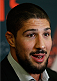 LAS VEGAS - DECEMBER 04:  Brendan Schaub interacts with media during the UFC 181 Ultimate Media Day at the MGM Grand Hotel/Casino on December 4, 2014 in Las Vegas, Nevada. (Photo by Josh Hedges/Zuffa LLC/Zuffa LLC via Getty Images)