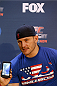 PHOENIX, AZ - DECEMBER 11:  Stipe Miocic interacts with media during the UFC Ultimate Media Day at the US Airways Center on December 11, 2014 in Phoenix, Arizona. (Photo by Josh Hedges/Zuffa LLC/Zuffa LLC via Getty Images)