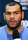 PHOENIX, AZ - DECEMBER 11:  Gabriel Gonzaga of Brazil interacts with media during the UFC Ultimate Media Day at the US Airways Center on December 11, 2014 in Phoenix, Arizona. (Photo by Josh Hedges/Zuffa LLC/Zuffa LLC via Getty Images)