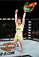 LAS VEGAS, NEVADA - DECEMBER 12:  Aisling Daly celebrates her submission victory over Alex Chambers in their strawweight fight during The Ultimate Fighter Finale event inside the Pearl concert theater at the Palms Casino Resort on December 12, 2014 in Las Vegas, Nevada. (Photo by Jeff Bottari/Zuffa LLC/Zuffa LLC via Getty Images)