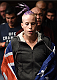 LAS VEGAS, NEVADA - DECEMBER 12: Bec Rawlings prepares to enter the Octagon before facing Heather Jo Clark in their strawweight fight during The Ultimate Fighter Finale event inside the Pearl concert theater at the Palms Casino Resort on December 12, 2014 in Las Vegas, Nevada. (Photo by Jeff Bottari/Zuffa LLC/Zuffa LLC via Getty Images)