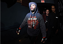 LAS VEGAS, NEVADA - DECEMBER 12:  Jeremy Stephens prepares to enter the Octagon before facing Charles Oliveira in their lightweight fight during The Ultimate Fighter Finale event inside the Pearl concert theater at the Palms Casino Resort on December 12, 2014 in Las Vegas, Nevada. (Photo by Jeff Bottari/Zuffa LLC/Zuffa LLC via Getty Images)