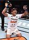 LAS VEGAS, NEVADA - DECEMBER 12: Charles Oliveira celebrates his victory over Jeremy Stephens in their lightweight fight during The Ultimate Fighter Finale event inside the Pearl concert theater at the Palms Casino Resort on December 12, 2014 in Las Vegas, Nevada. (Photo by Jeff Bottari/Zuffa LLC/Zuffa LLC via Getty Images)