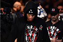 PHOENIX, AZ - DECEMBER 13:  Nate Diaz walks into the arena before facing Rafael dos Anjos of Brazil in their lightweight fight during the UFC Fight Night event at the U.S. Airways Center on December 13, 2014 in Phoenix, Arizona.  (Photo by Josh Hedges/Zuffa LLC/Zuffa LLC via Getty Images)