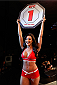 BARUERI, BRAZIL - DECEMBER 20:  UFC Octagon Girl Camila Rodrigues de Oliveira introduces a round during the UFC Fight Night event inside the Ginasio Jose Correa on December 20, 2014 in Barueri, Brazil. (Photo by Josh Hedges/Zuffa LLC/Zuffa LLC via Getty Images)