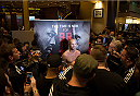 LAS VEGAS, NEVADA - DECEMBER 31:  Donald Cerrone talks to the media during the UFC 182 Open Workouts at the MGM Grand Hotel and Casino on December 31, 2014 in Las Vegas, Nevada. (Photo by Brandon Magnus/Zuffa LLC/Zuffa LLC via Getty Images)