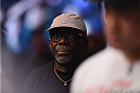 LAS VEGAS, NV - JANUARY 03:  UFC event coordinator Burt Watson during the UFC 182 event at the MGM Grand Garden Arena on January 3, 2015 in Las Vegas, Nevada.  (Photo by Jeff Bottari/Zuffa LLC/Zuffa LLC via Getty Images)