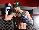 BOSTON, MA - JANUARY 15:  UFC featherweight Conor McGregor of Ireland holds an open training session for the media and fans at UFC Gym on January 15, 2015 in Boston, Massachusetts. (Photo by Jeff Bottari/Zuffa LLC/Zuffa LLC via Getty Images)