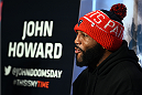 BOSTON, MA - JANUARY 16:  UFC welterweight John Howard interacts with media at Faneuil Hall on January 16, 2015 in Boston, Massachusetts. (Photo by Jeff Bottari/Zuffa LLC/Zuffa LLC via Getty Images)