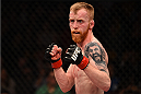 BOSTON, MA - JANUARY 18:  Paddy Holohan fights Shane Howell in their flyweight fight during the UFC Fight Night event at the TD Garden on January 18, 2015 in Boston, Massachusetts. (Photo by Jeff Bottari/Zuffa LLC/Zuffa LLC via Getty Images)