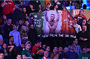 BOSTON, MA - JANUARY 18:  Fans react during the UFC Fight Night event at the TD Garden on January 18, 2015 in Boston, Massachusetts. (Photo by Jeff Bottari/Zuffa LLC/Zuffa LLC via Getty Images)