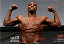 STOCKHOLM, SWEDEN - JANUARY 23:  Phil Davis of the United States weighs in during the UFC Fight Night Weigh-ins at the Hovet Arena on January 23, 2015 in Stockholm, Sweden. (Photo by Josh Hedges/Zuffa LLC/Zuffa LLC via Getty Images)
