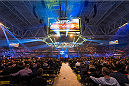 STOCKHOLM, SWEDEN - JANUARY 24: Tele2 Arena the venue for  the UFC Fight Night on January 24, 2015 in Stockholm, Sweden. (Photo by Michael Campanella/Zuffa LLC via Getty Images)