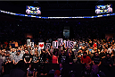 BROOMFIELD, CO - FEBRUARY 14:  Fans cheer during the UFC Fight Night event inside 1stBank Center on February 14, 2015 in Broomfield, Colorado. (Photo by Josh Hedges/Zuffa LLC/Zuffa LLC via Getty Images)