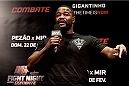 PORTO ALEGRE, BRAZIL - FEBRUARY 21:  Former UFC  light heavyweight champion Rashad Evans interacts with fans during a Q&A session before the UFC Fight Night weigh-in  at Gigantinho Arena on February 21, 2015 in Porto Alegre, Brazil.  (Photo by Buda Mendes/Zuffa LLC/Zuffa LLC via Getty Images)